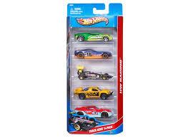 Набор Mattel, Hot Wheels Базовые машинки, <b>5</b> шт. купить в ...