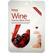 <b>Антивозрастная маска для</b> лица с экстрактом красного вина La ...
