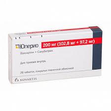 <b>Юперио 200мг</b> (<b>102</b>,8мг+97,2мг) 28 шт. таблетки покрытые ...