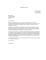 cover letter format best examples of the best cover letters    examples of the best