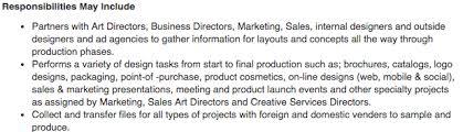 graphic design resume sample  amp  writing guide   rgactual design job description  graphic designer job description