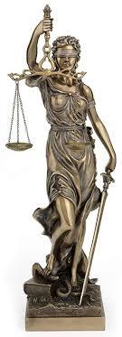 Large Bronze Finish Lady Justice 18 Inch Statue ... - Amazon.com