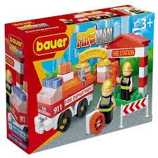 <b>Конструктор Bauer Fireman</b> 739-58 <b>Пожарная</b> машин... — купить ...