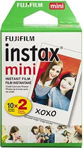 <b>Fujifilm INSTAX Mini</b> Instant <b>Film</b> Twin Pack, White (20 Exposures ...