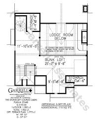 Stonecliff Couples Cabins   House Plans by Garrell Associates  Inc     stonecliff couples cabins house plan   optional loft plan