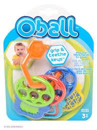 "<b>Прорезыватель</b> ""<b>Разноцветные ключики</b>"" <b>Oball</b> 2137460 в ..."