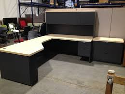 black l shaped desk with hutch plus storage and computer stand for home office furniture ideas bathroomoutstanding black staples office furniture lshaped