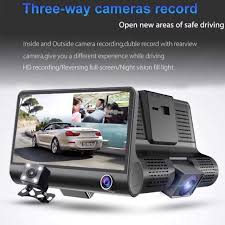 <b>WDR</b> Full HD 1080P <b>3 Lens</b> Car DVR Dash Cam G-Sensor ...