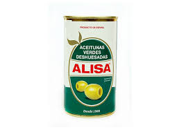 <b>Оливки ALISA</b> целые без косточки <b>350</b> гр — купить <b>в</b> интернет ...