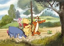 <b>Фотообои</b> оптом <b>Komar</b> > <b>Disney</b> 4-411 <b>Winnie</b> Expedition купить ...