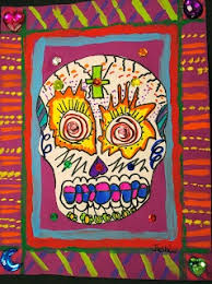 images about dia de los muertos day of the dead crafts and    deep space sparkle katrina art lesson moment to moment salt dough skull necklace the crafty chica white chocolate sugar skulls deep space sparkle day of the