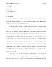 reflection essay final draft luciana medina