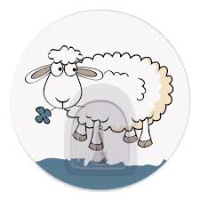 <b>Крючок Tatkraft FUNNY</b> SHEEP BELLA (18686), <b>адгезивный</b> ...