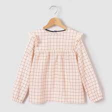 фото <b>Блузка</b> в <b>клетку</b> 3-12 лет abcd'R | Одежда для ...