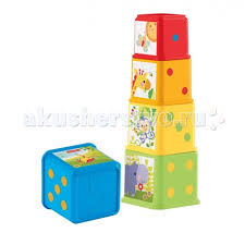 Развивающая игрушка <b>Fisher Price Mattel Пирамида</b> сложите и ...