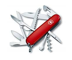 <b>Мультитул</b> Victorinox <b>Swiss Army Huntsman 1.3713</b> красный ...