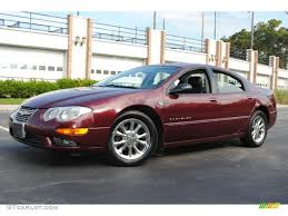 2000 Chrysler 300 2000 Dark Garnet Red Metallic Chrysler 300 M Sedan 55402304