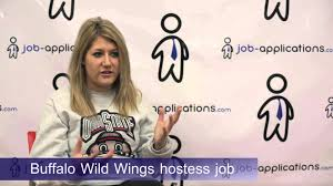 buffalo wild wings interview hostess