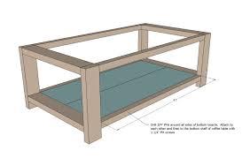 kitchen table plans ana white build