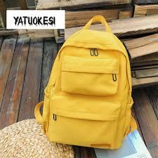 Backpack For Women Nylon Waterproof School Large Capacity ...