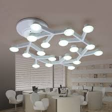 modern minimalist led ceiling light wall lighting white branch top ceiling engineering lamps for bedroom living ceiling wall lights bedroom