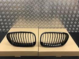 BMW F20 F21 <b>1</b> SERIES <b>GLOSS</b> BLACK KIDNEY GRILLES PRE ...
