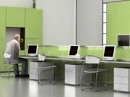 informal green wall indoors green office ideas office interior design collection comes with light green wall awesome green office chair