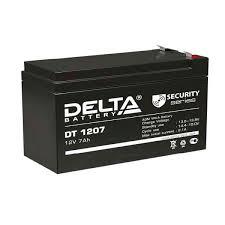 <b>Аккумулятор</b> Delta DT 1207 (<b>12V</b> / 7Ah) со склада в Москве и СПб