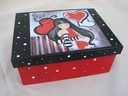 Resultado de imagen de cajas de madera decoradas