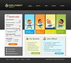 job portal website template