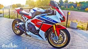 Тест-драйв <b>мотоцикла Honda CBR1000RR</b> Fireblade SP version ...