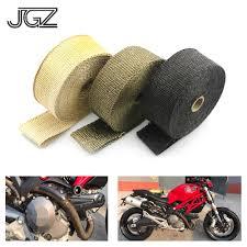 <b>Universal</b> 1.5mm*50mm <b>Motorcycle Exhaust Pipe</b> Insulation Cotton ...