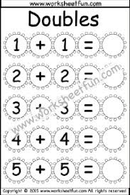 Addition Doubles / FREE Printable Worksheets – WorksheetfunAddition Doubles – 2 Worksheets