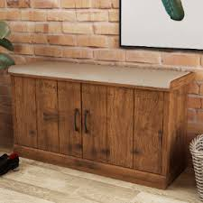 Camford <b>Storage Bench</b> With Cupboard