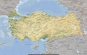 Resultado de imagen para mapa de turquía
