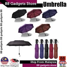<b>Automatic Umbrella</b> Foldable Rain Umbrella | Lazada