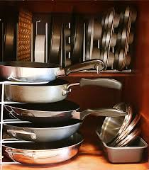 pots pans organization