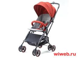 <b>Коляска Xiaomi Light</b> Baby Folding Stroller Red в Москве ...