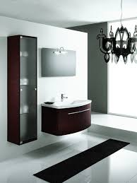 m bathroom cabinets lowes rectangular wall mirror frameless double round undermount sink dark brown base cabinet modern oak fruitwood floating cabinet oak bathroom furniture modern