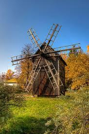Old Windmill <b>Seen</b> at Pereyaslav-Khmelnytski, Ukraine. (с ...