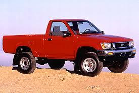 1990 94 toyota pickup consumer guide auto 1993 toyota pickup 4wd regular cab