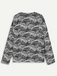 Мужская простая <b>футболка с принтом птицы</b> | SHEIN