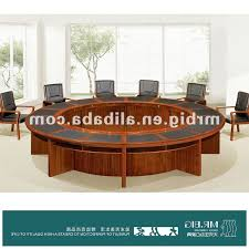 wm round conference tables solid wood conference table meeting bene office furniture