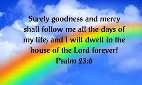 Image result for psalm 23:6