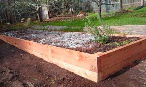 Small Picture Above Ground Garden Bed How To Make A Raised Bed Garden Box From