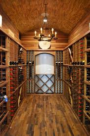 wine cellar traditional with barrel ceiling chandelier rustic image by butterfield custom homes barrel wine cellar designs