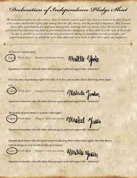 teaching the declaration of independence   activity   education com
