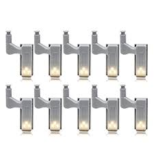 Thboxes <b>10Pcs LED Smart Touch</b> Induction Cabinet Light Cupboard ...