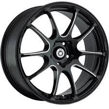 <b>konig Illusion</b> (Painted/Black with Machined Spoke ) Wheel ...