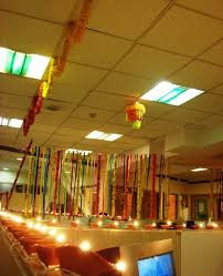 diyas and flower diwali decoration idea for office beautiful office decoration themes